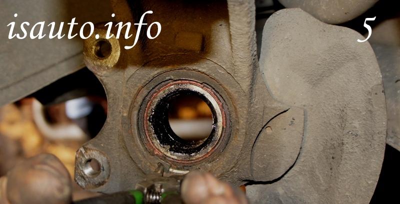 Замена подшипника ступицы переднего колеса Daewoo Lanos, (Деу Ланос), Sens, (Сенс) Nexia, (Нексия), Chevrolet Lanos, (Шевролет Ланос), Zaz Chance, (Заз Шанс), своими руками.