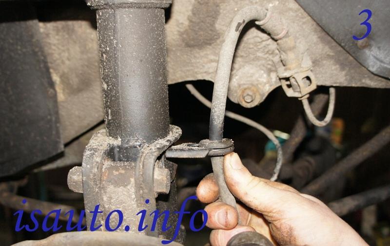 Фото №17 - как поменять стойки на ВАЗ 2110