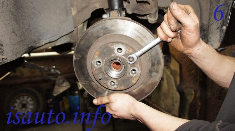 винты крепления/направляющие тормозного диска